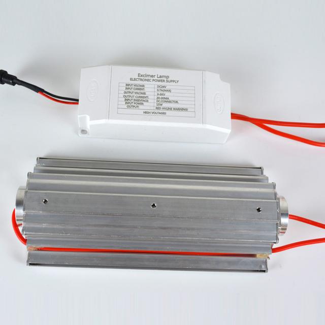 QuantaModule Open Source 15-Watt Far UV Excimer Module DC 24V Far-UVC Light Kit with 222nm Bandpass Flitter and Housing